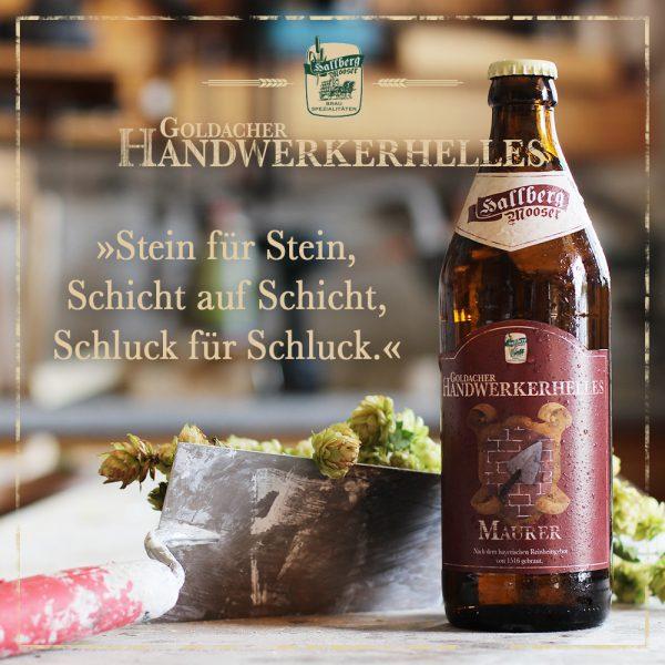 Hallbergmooser-Brauspezialitaeten-Shop-Goldacher-Handwerkerhelles-Maurer-Spruch