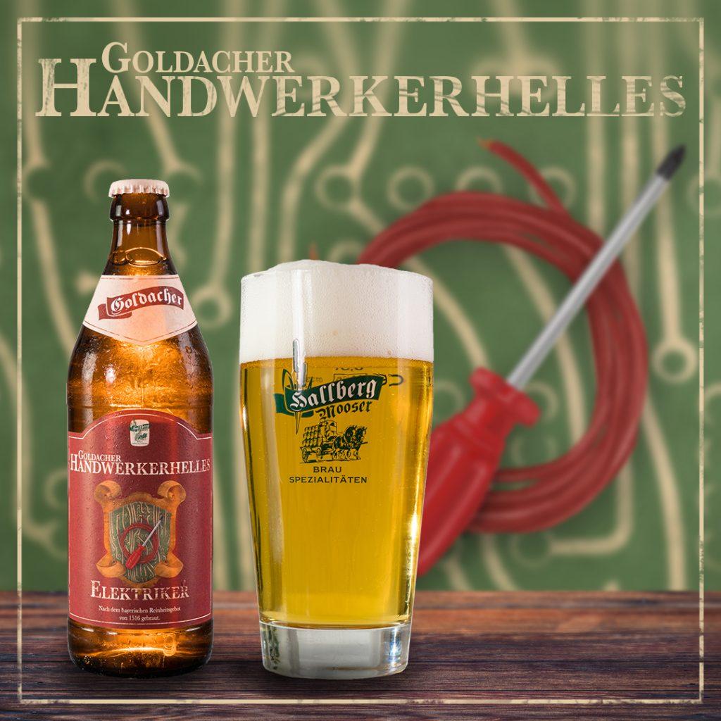 Geschenk-Handwerker-Bier-Elektriker