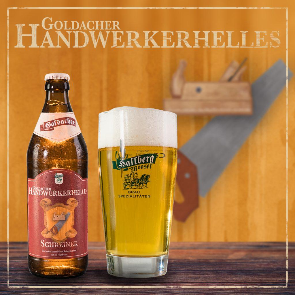 Geschenk-Handwerker-Bier-Schreiner